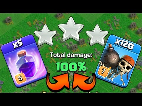MASS WALLBREAKERS + RAGE SPELL 3 STAR | Clash of Clans