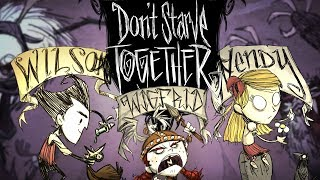 Gęsiołosia po Łbie!  Don't Starve Together #18 w/ GamerSpace, Tomek90