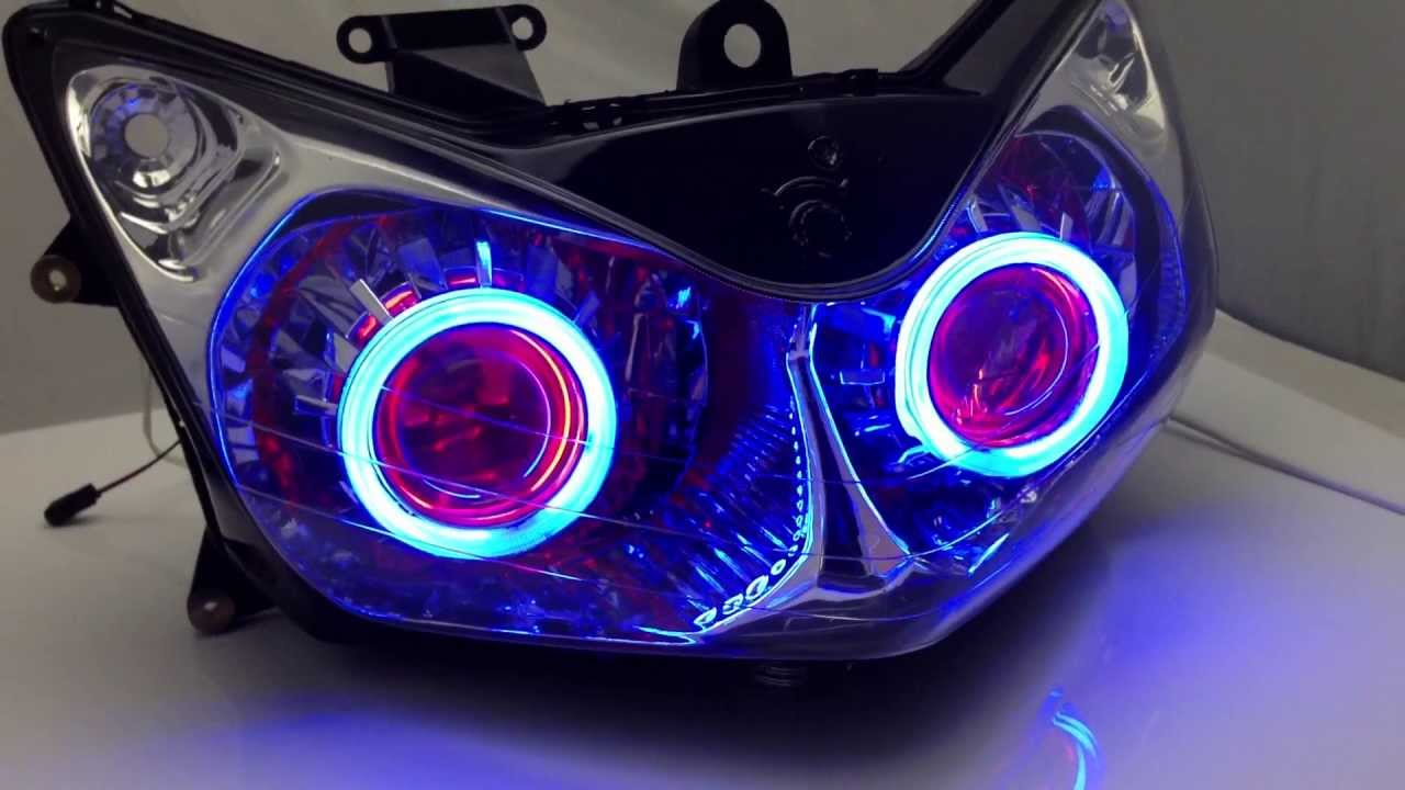 Bmw e87 angel eyes headlights-6603