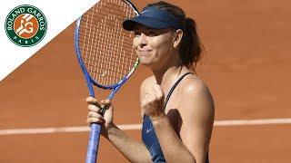 Maria Sharapova vs Donna Vekic - Round 2 Highlights I Roland-Garros 2018