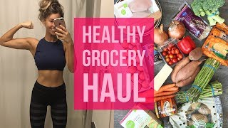 GETTING BACK ON TRACK 🍎🍊🍋 HEALTHY GROCERY HAUL | ANNA VICTORIA