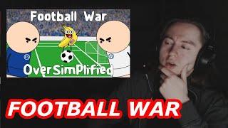 GERMAN GUY Reacts To Football War MiniWars 2