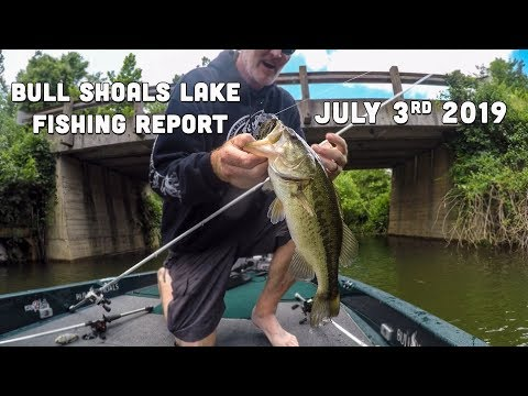 Early July Fishing Report | Bull Shoals Lake | Del Colvin