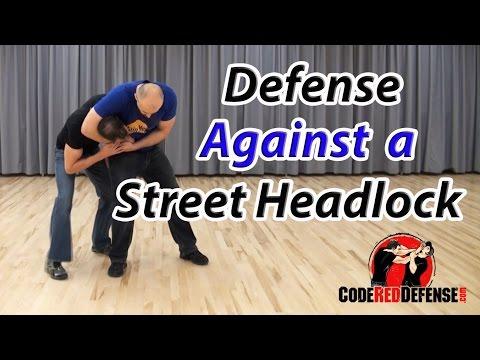 Defense against a Street Headlock