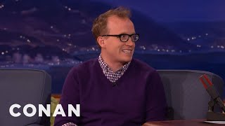 Chris Gethard Got Freezer Burn As A Human Ice Cream Sundae  - CONAN on TBS