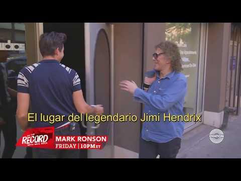 Mark Ronson da un tour por los estudios Electric Lady.