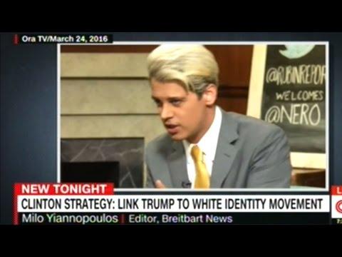 "Clinton News Network Links Donald Trump To ""American Neo-Nazi Movement!"""