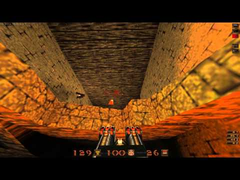 Quake Mission Pack: 2 Dissolution of Eternity - 08 Tempus Fugit - All Secrets - 1080p 60fps  