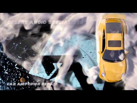 Car Audio Amplifier Repair