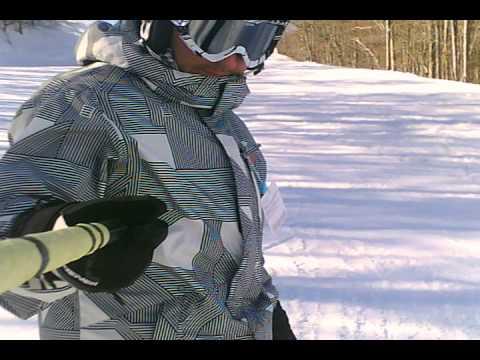Bellissima giornata di snowboard sulle piste del lago laceno :)