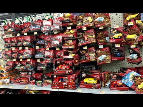 New Cars 3 Toys Live Toy Hunting At Walmart Toy Hunt Talking