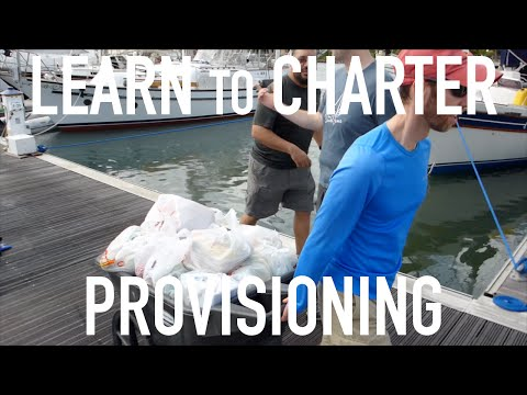 Learn to Bareboat Charter: Provisioning