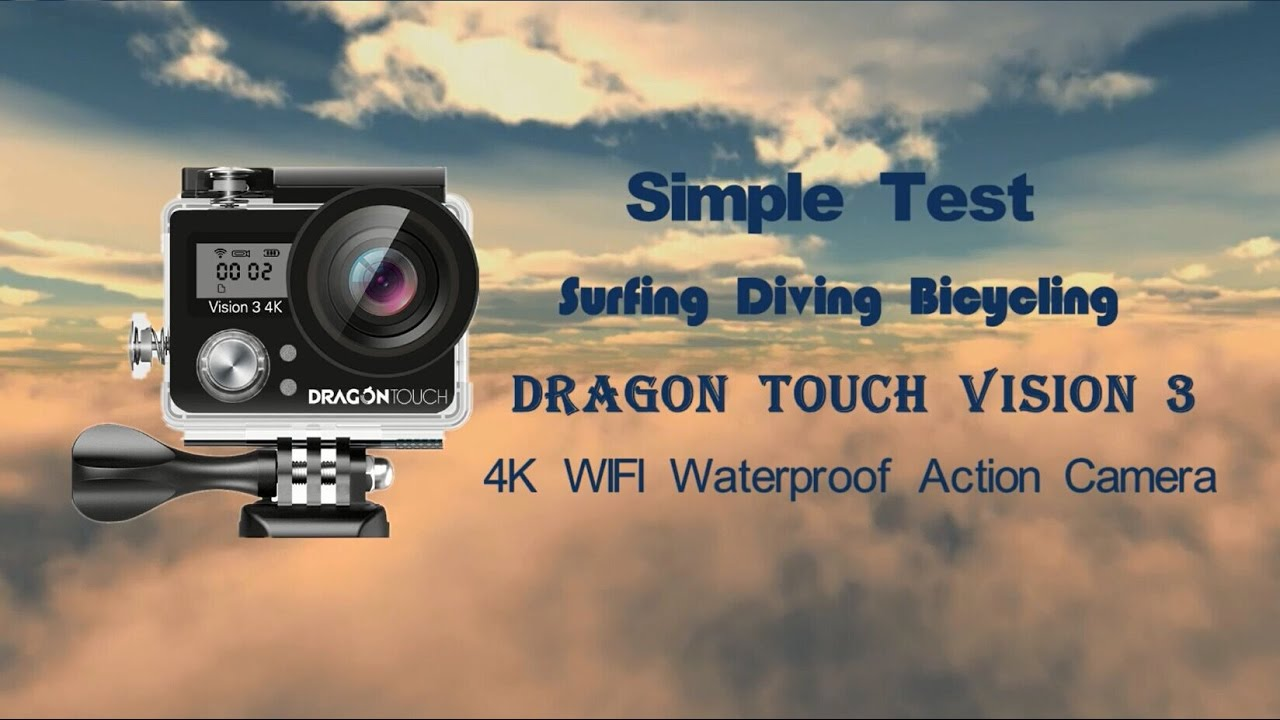 dragon touch vision 3 4k action camera review surfing. Black Bedroom Furniture Sets. Home Design Ideas