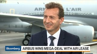 airbus ceo faury sees lots of orders at paris air show