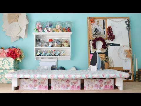 Sewing Room Tour & Organization