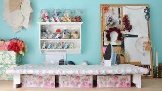 Sewing Room Tour & Organization
