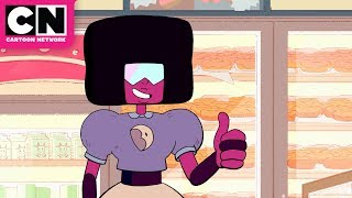 Steven Universe | Garnet Gets a Job at the Big Donut | Cartoon Network