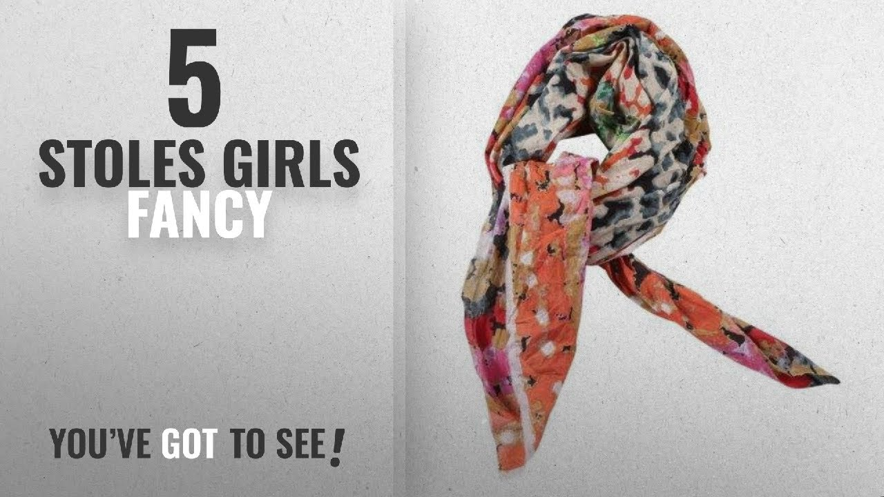 05ccf7e26 Top 10 Stoles Girls Fancy [2018]: Contrast Living Women Face Scarf Girls  Scarf Ladies Stole Mens