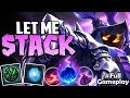 LET ME STACK | INDEED A HARD TOP LANE | Veigar vs Tryndamere TOP | S8 Ranked Gameplay