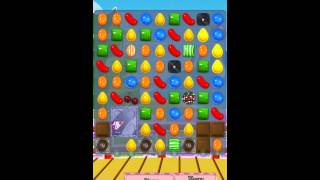 Candy Crush Saga Level 368 iPhone No Boosts