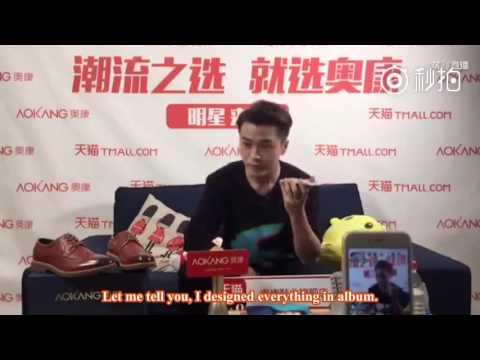 [Engsub][CUT] 09112016 Meng Rui called Xiao Bai on AoKang live stream