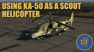 dcs ka 50 using the blackshark as a scout helicopter feat mirage 2000c