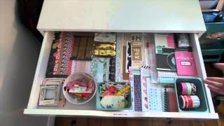 Inkie Quill Craft Room Makeover Tour ! *epic Video - Get Yourself A Cuppa*