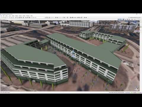Procedural Urban Planning: Business complex in Rome