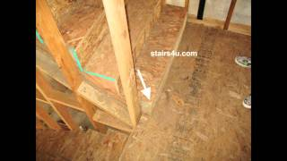 Stair Tread Protruding Into Landing - Staircase Construction Facts