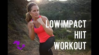 25 Minute Low Impact Cardio HIIT Workout--- Quiet At Home Workout for Fat Burn