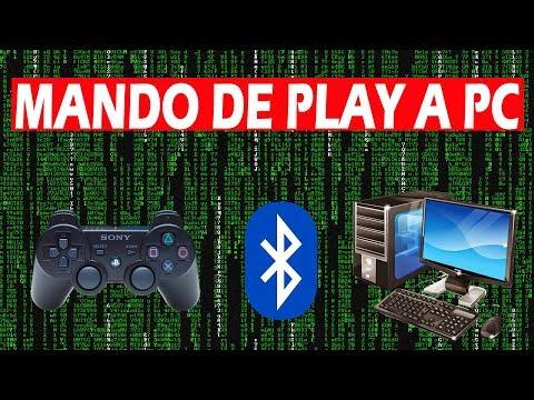COMO CONECTAR MI MANDO PS3 A PC POR BLUETOOTH o CABLE