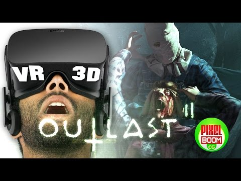 OUTLAST 2 - Horror Gameplay 2016 - VR Google Cardboard 3D SBS 1080p