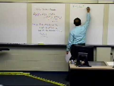 Taylor Series: Example