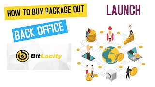 HOW TO BUY A PACKAGE IN  BITLOCITY|BACK OFFICE|LAUNCH