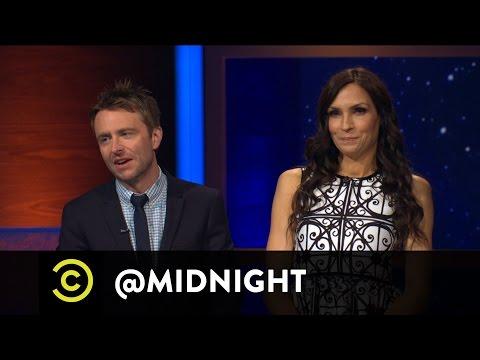 Famke Janssen Wants a Bond Guy - @midnight with Chris Hardwick