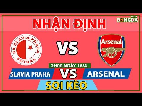 Nhận định Soi Kèo bóng đá Slavia Praha vs Arsenal, 02h00 ngày 16/4, Tứ kết Europa League