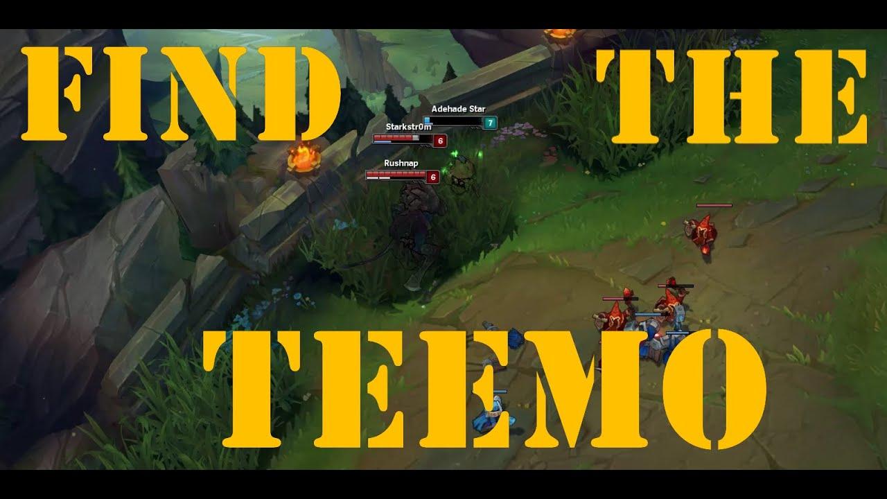 Find the Teemo   Top Lane   Summoner's Rift   League of Legends