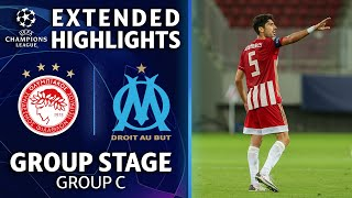 Olympiacos vs. Marseille: Extended Highlights   UCL on CBS Sports