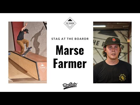 Marse Farmer in Stag at The Boardr Presented by Marinela