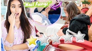 Going to the WORST RATED Nail Salon in my City! (SKETCHY)