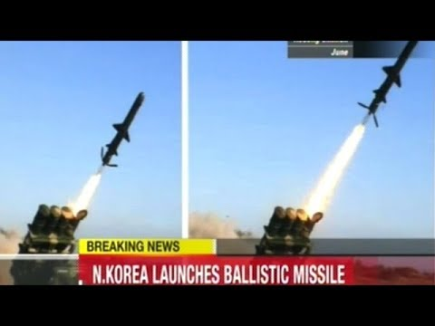 Japanese Coverage Of North Korea Ballistic Missile Launch