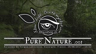 Slow Life Contemplation - Pure Nature n°001 - Ruisseau de Vergne Labouesse