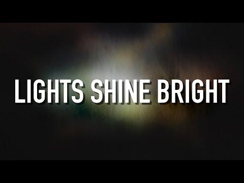 Lights Shine Bright - [Lyric Video] TobyMac (feat. Hollyn)