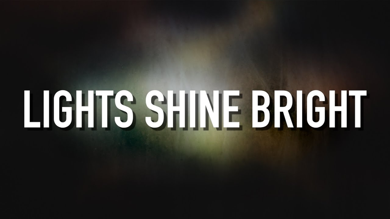 Lights Shine Bright Lyric Video Tobymac Feat Hollyn