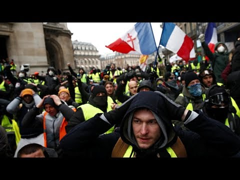 Week 26: Yellow Vests call for new protests in Paris – YouTube – Watch Live Now 8:49 ET