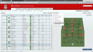 Football Manager 2011: My Liverpool Tactics