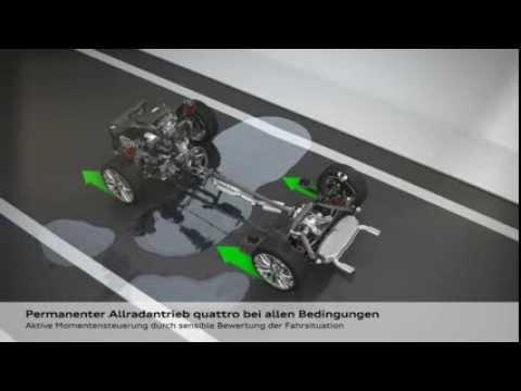 Audi TT Animation Four Wheel Drive quattro