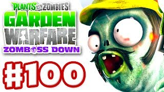 Plants vs. Zombies: Garden Warfare - Gameplay Walkthrough Part 100 - Cactus Canyon Night (Xbox One)