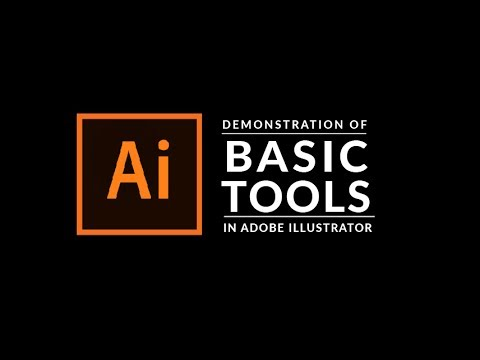 How To Use The Basic Tools in Adobe Illustrator
