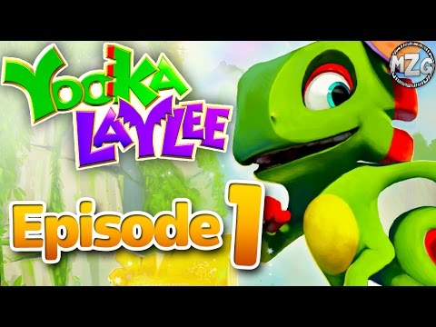AWESOME New Adventure! - Yooka-Laylee Gameplay - Episode 1